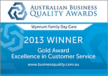 Gold Award - Excellence in Customer Service