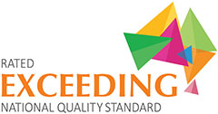 rated exceeding national quality
